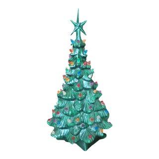Ceramic Light Up Christmas Tree For Sale