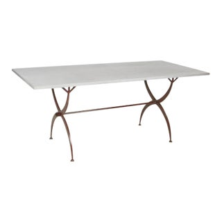 Large Sized Zinc Folding Table