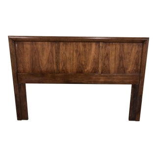 1970s Mid-Century Modern Queen Size Headboard For Sale
