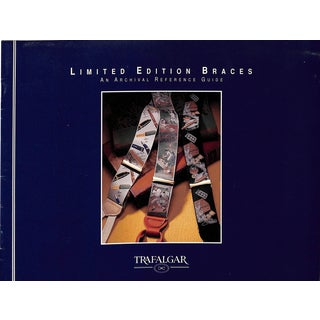 Trafalgar Limited Edition Braces: An Archival Reference Guide For Sale