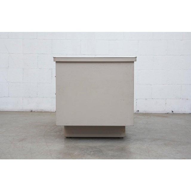 Industrial Metal Mini Tank Desk - Image 3 of 10