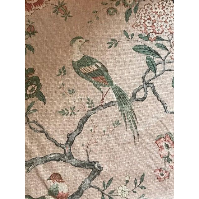 4 Yards of G P & J Baker oriental bird signature blush fabric. Product Description for G P & J Baker Oriental Bird...