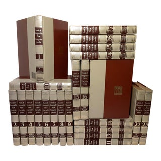 1970's Funk & Wagnall's New Encyclopedia Edition - Set of 27 For Sale