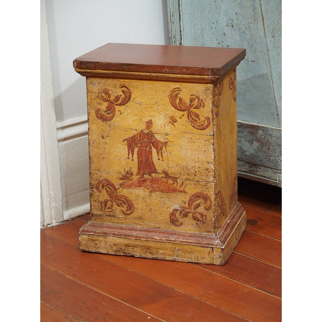 Pink Small, Early 19th Century Painted Table For Sale - Image 8 of 8