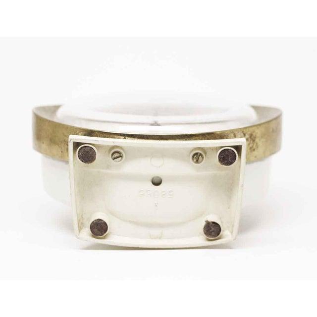 Brown Westclox Big Ben Plastic & Brass Alarm Clock For Sale - Image 8 of 11