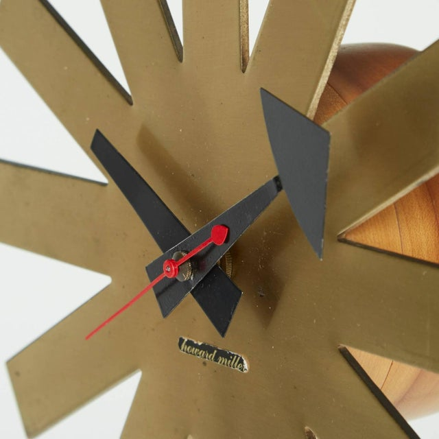 Asterisk Clock by George Nelson Circa 1953 - Image 2 of 5