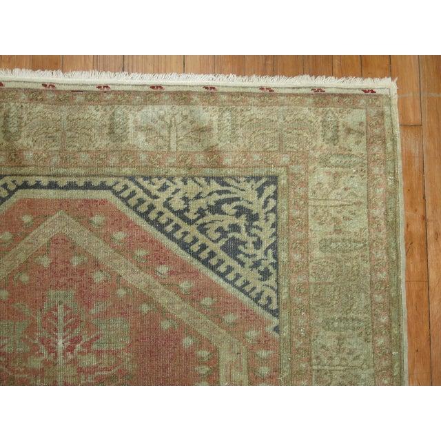 Turkish Anatolian Prayer Niche Rug - 4′2″ × 5′4″ - Image 5 of 10