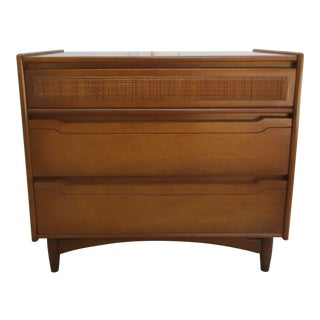 Mid-Century Modern Three Drawer Dresser -St John's Table Co. For Sale