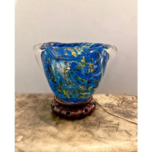 1960s Mid-Century Murano Bowl For Sale - Image 5 of 5