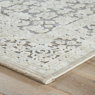 Jaipur Living Regal Damask Gray/ White Area Rug - 2′ × 3′ Preview
