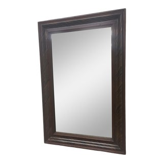 Pine Grain Painted Wall Mirror For Sale