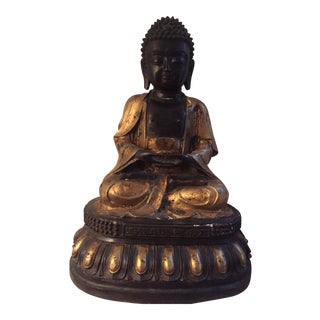Black & God Buddha Statue