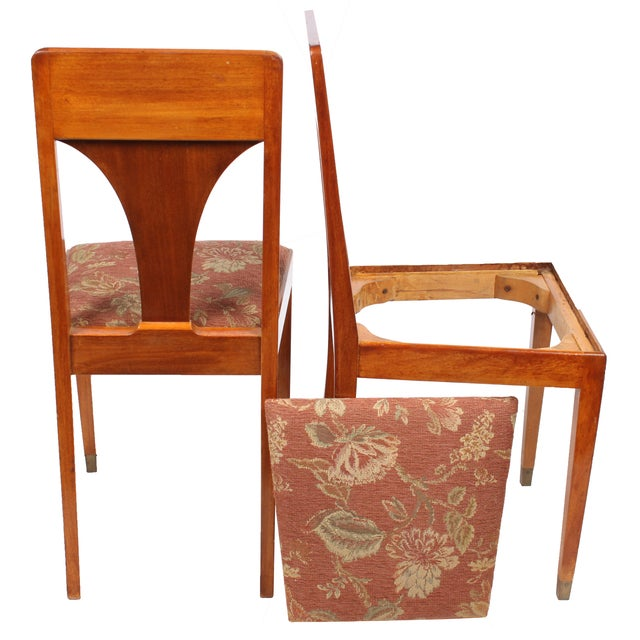 1930s Art Deco Jugend Chairs - A Pair - Image 2 of 3