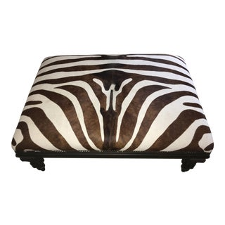 Zebra Hide Coffee Table