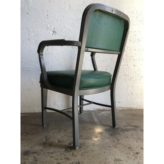 Vintage Office Industrial Chairs by Techfab Furniture Missouri (A Pair) For Sale - Image 11 of 13