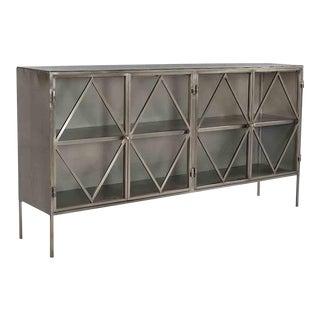 Modern Metal Sideboard