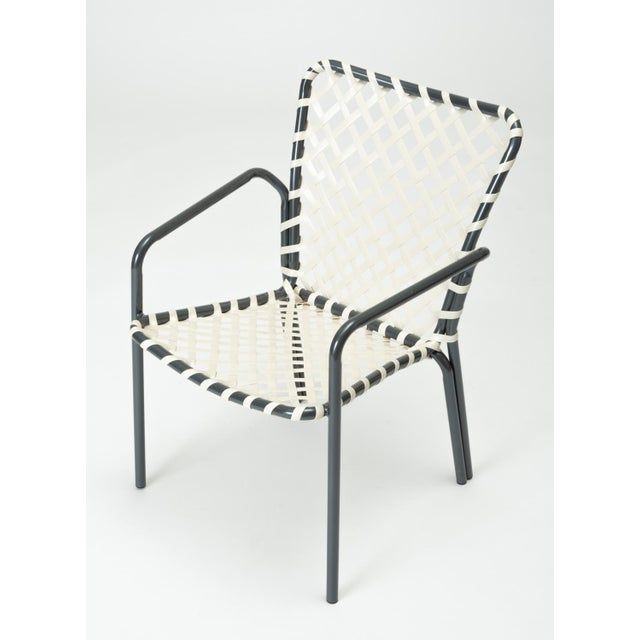 Mid-Century Modern Set of Eight Patio Dining Chairs by Ames Aire For Sale - Image 3 of 9