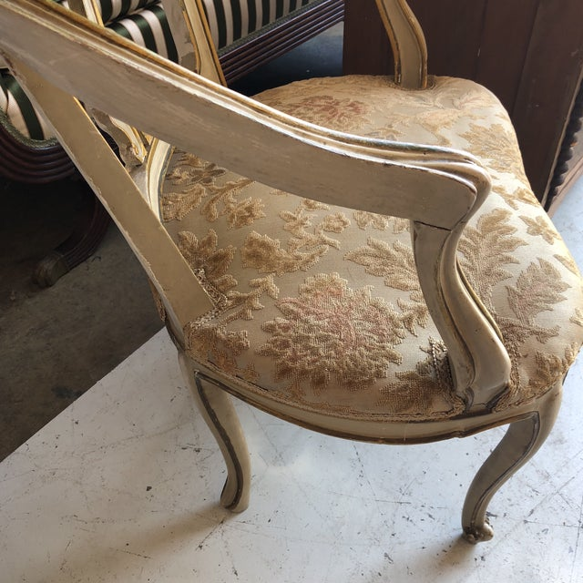 French Accent Chairs - a Pair For Sale - Image 4 of 8