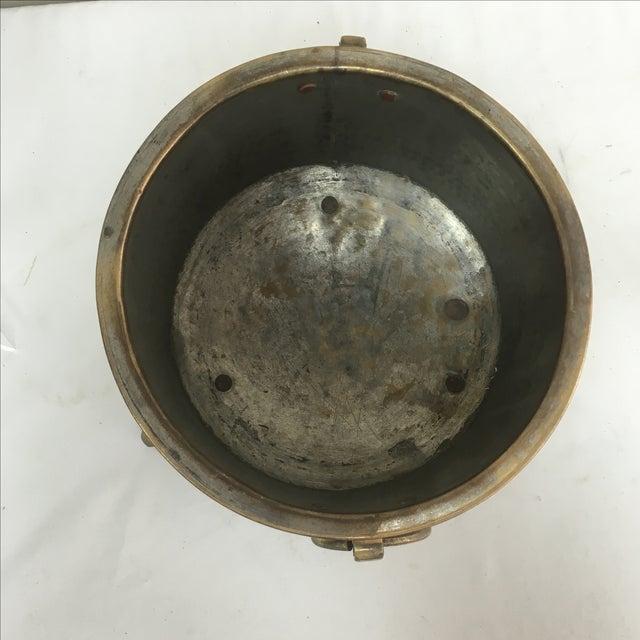 Antique French Brass Champagne Bucket - Image 4 of 5