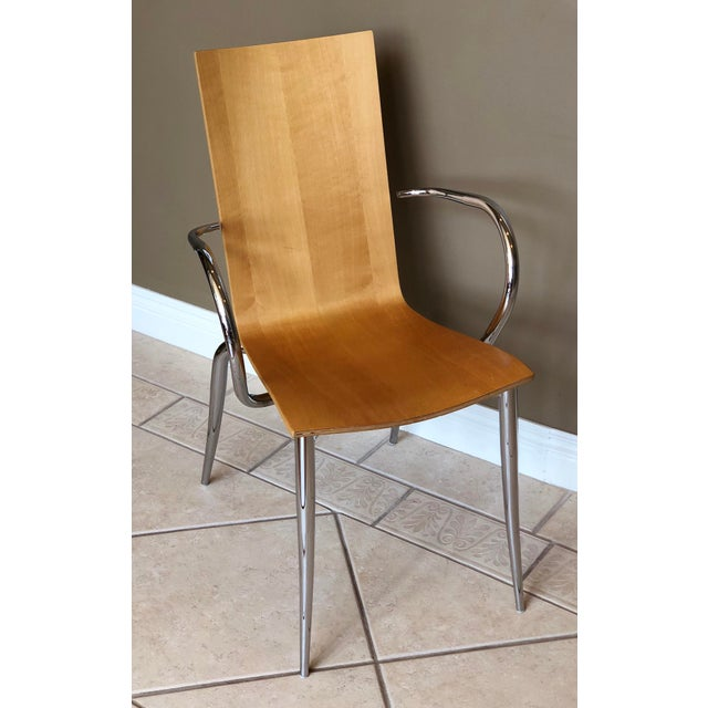 Introducing Olly Tango easy armchair chair, designed by internationally recognized French designer Philippe Starck for...