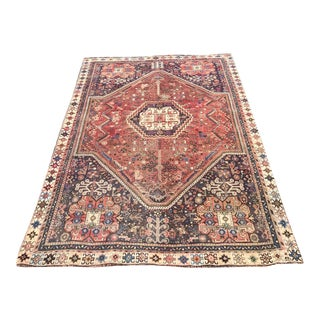 "Early 20th Century Southwest Persian Rug 4'3""x6' For Sale"