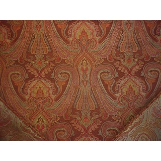Traditional Kravet Couture Sumptuous Paisley Java Silk Drapery Upholstery Fabric - 4-1/2y For Sale