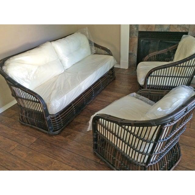 Drexel Heritage Outdoor Sofa & Chairs Patio Set For Sale - Image 10 of 10 - Drexel Heritage Outdoor Sofa & Chairs Patio Set Chairish