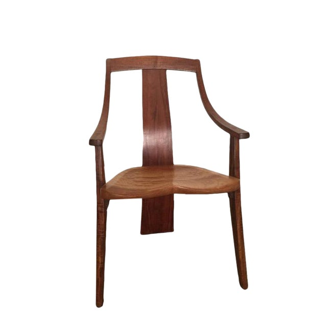 Robert Erickson Signed Van Muyden Arm Chair - Image 1 of 6