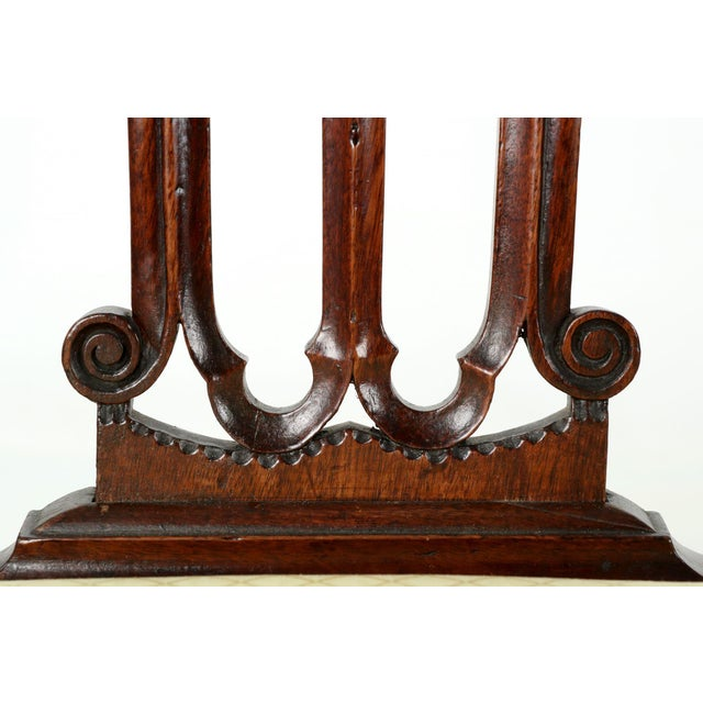 18th Century Chippendale Period Mahogany Side Chairs - a Pair - Image 8 of 10