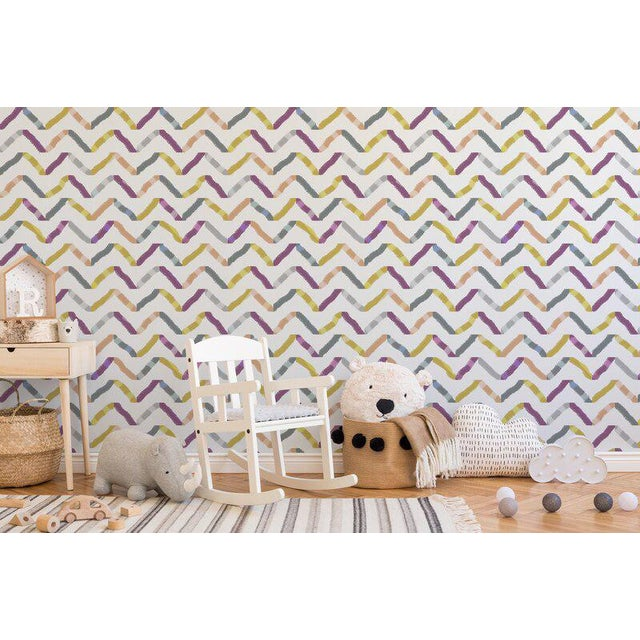 Your walls deserve to have fun too! Our Peel & Stick removable wallpaper collections combine bold colors with lively...