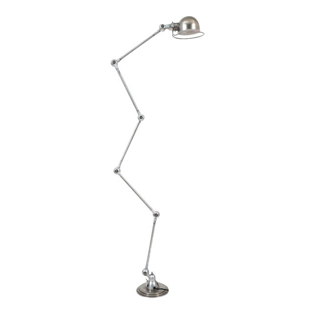 Jean Louis Domecq Industrial Floor Lamp for Jielde For Sale