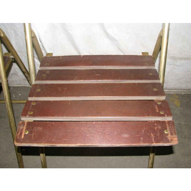 Mid 20th Century Mid-Century Modern Folding Chair For Sale - Image 5 of 10