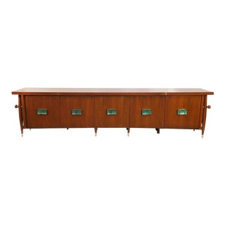 Stunning Frank Kyle Credenza with Pepe Mendoza Pulls For Sale