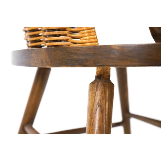 1960s Vintage Arthur Umanoff for Washington Woodcraft Rocking Chair For Sale - Image 5 of 10