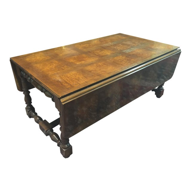 Baker Furniture Company Drop Leaf Table Chairish