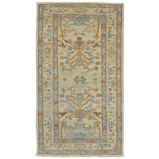 Surena Rugs New Turkish Oushak Rug - 3' x 6'1'' For Sale