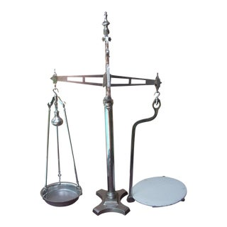 Antique Steel Laboratory Scale For Sale