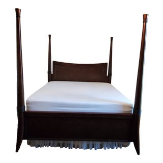 Traditional Bernhardt King Size Poster Bed For Sale