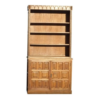 Mid-Century Modern Teak Bookcase For Sale