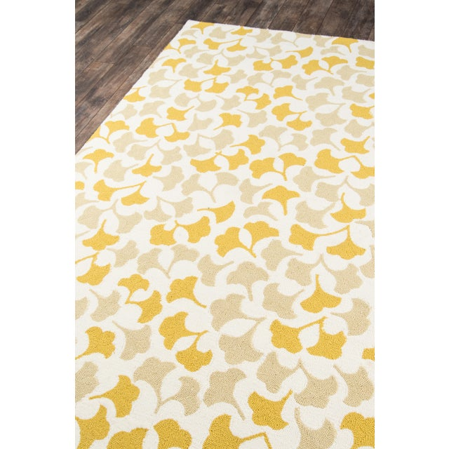 Contemporary Madcap Cottage Under a Loggia Howards End Gold Indoor/Outdoor Area Rug 2' X 3' For Sale - Image 3 of 9