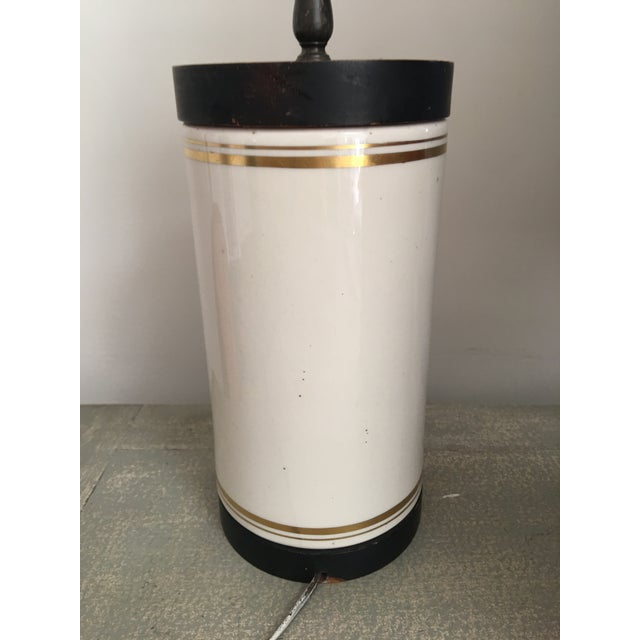 Frank Vosmanski for Abercrombie and Fitch Mid Century Dog Lamp For Sale - Image 10 of 13
