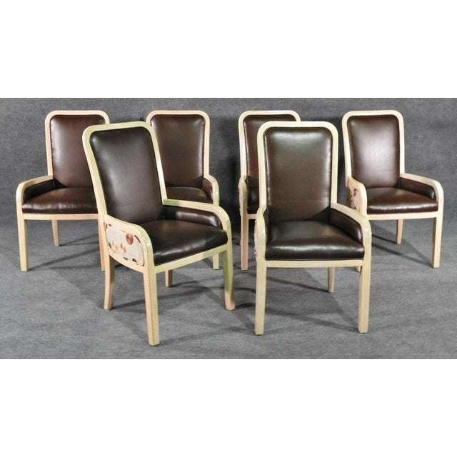 Donghia Donghia Modern Designer Dining Chairs - a Set of 6 For Sale - Image 4 of 4