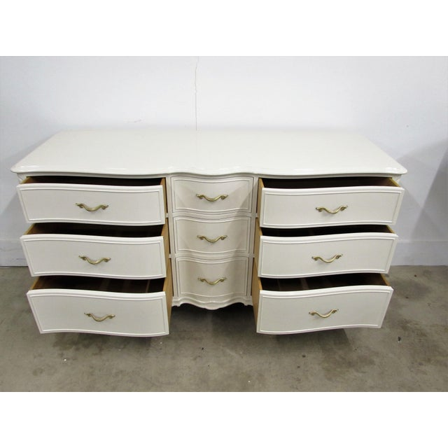 Drexel French Lacquered Chest of Drawers - Image 3 of 10