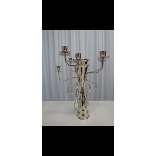 """Driade """"Simon"""" Silver Plated 7-Branched Candleholder/Candelabra by Borek Sipek Preview"""
