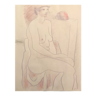 Female Nude by James Bone 1990s For Sale