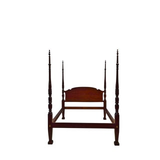 Late 20th Century Vintage Pennsylvania House Queen Size Bedframe For Sale