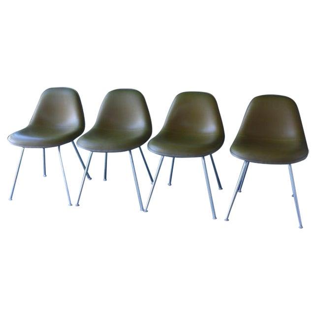 Eames La Fonda Lowback Chairs - Set of 4 - Image 1 of 11