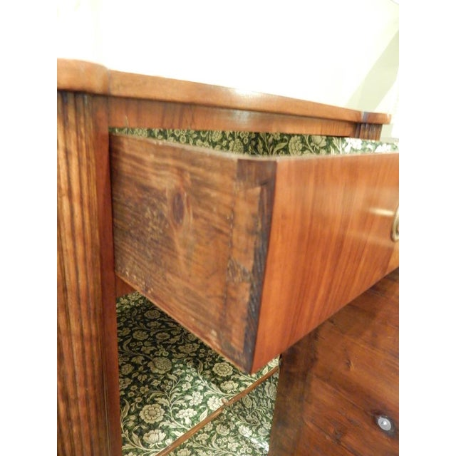 Brown Pair of 19th C Charles X French Walnut Bedside Cabinets For Sale - Image 8 of 11