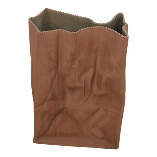 "Tapio Wirkkala ""Do Not Litter"" Paper Bag Vase"
