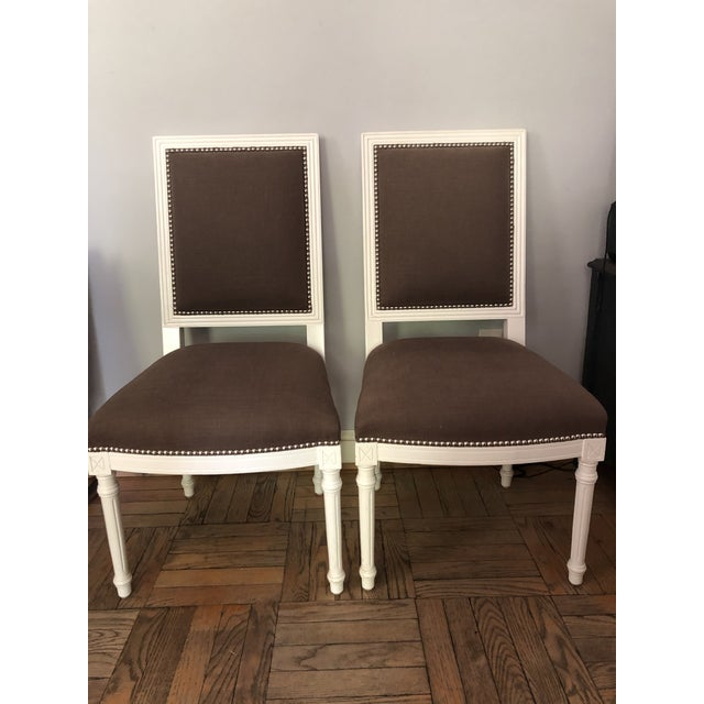 Jonathan Adler Dining Chairs - a Pair For Sale - Image 11 of 11